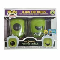 Funko POP The Simpsons Treehouse of Horror Kang and Kodos Glow Figure toy
