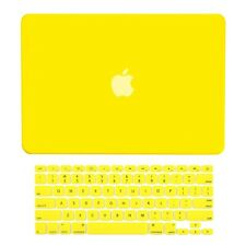 "Unik Case-2 in 1 Matte Hard Case & Silicone Skin for Macbook Pro 13"" -Yellow"