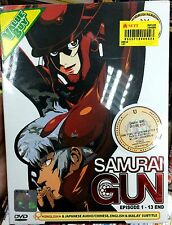 *English Language ~ Samurai Gun (1 - 13End) ~ DVD ~ Kazuhiro Kumagai ~ Anime