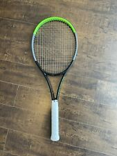 New listing 2021 Blade Pro 18x20 4 3/8 grip tennis racquet Used Once