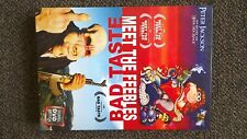 Meer The Feebles / Bad Taste - Peter Jackson  2 x DVD Box