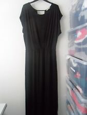 Ladies BNWOT OASIS Black Maxi Dress Size M (AJ)