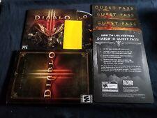 Diablo 3 Collectors Edition DVD de juego para PC-libre de arañazos disco solamente