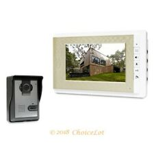 """7"""" Video Door Phone Intercom System Electric Lock Supported for Home Security"""