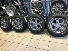 "16"" ALLOY WHEELS FORD TRANSIT CUSTOM BFG ALL TERRAIN TYRES MATT CARBON"