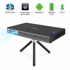 Cocar T5 Android Smart Mini Projector Protable Video 3D DLP-LINK WIFI Mirroring