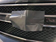 Color Vinyl Sheets (2) Decal-Overla U-Cut for Chevy Bowtie Emblems Carbon Fiber