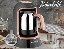 Korkmaz KAHVEKOLIK Türkischer Kaffee-Maschine Schwarz-ROSE-GOLD A860-02