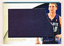 2013-14 Immaculate Cody Zeller Player Caps Hat Patch Rookie Rc (xx/75) - QTY