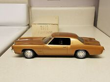 1971 Oldsmobile Toronado True Promo car MINT ORIG BOX BEST col. Jo-Han 71 G.M
