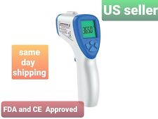 Non Contact Infrared Digital Forehead Thermometer Baby Adult Temperature Fda