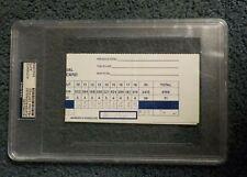 1980 SUGAR RAY LEONARD VS ROBERTO DURAN FULL UNUSED TICKET PSA 8 VINTAGE BOXING