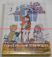 Little Witch Academia Vol.2 First Limited Edition Blu-ray Making Book Card Japan