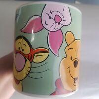 Disney Store WINNIE THE POOH Coffee Mug Tea Cup Tigger Eeyore Rabbit Piglet