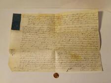1779 Wem Manor PERGAMENA Surrender DOCUMENTO WM PIDGEON SAM Colley #A12