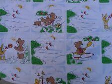 PLANET Kinderbettwäsche DDR Teddy Hase Camping True Vintage 70er GDR Bettwäsche