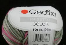 (79,00 €/kg): 450 Gramm Frisetto Color von  Gedifra, Farbe 8803 pinkgrün #1391