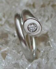 Ring mit Brillant Solitär Diamanten in aus 950 er Platin Grösse 49 Ringe edel!