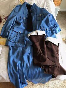 Hetalia Italy Cosplay Uniform and Wig
