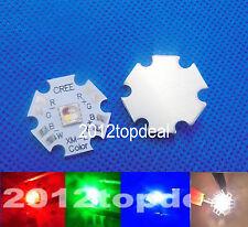 Cree XLamp XM-L RGBW RGB Warm White Color LED Emitter 4-Chip 20mm Star PCB Board