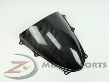 2009-2016 Suzuki GSX-R 1000 Front Windshield Wind Shield Screen Carbon Fiber