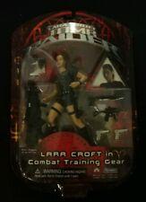 "Tomb Raider Lara Croft in Combat Training Gear Playmates 6"" 2001 Angelina Jolie"