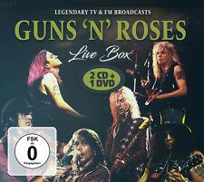 GUNS N ROSES New Sealed 2020 LIVE CONCERTS DVD & 2 CD SET