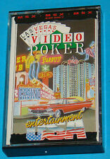 Las Vegas Video Poker - MSX - PAL