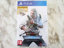 The Witcher 3 III Wild Hunt Hearts of Stone Pack Spanish Version PS4 NEW