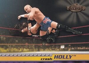 Crash Holly 2001 Fleer WWF Championship Clash Rookie Card #10 RC WWE Superstar