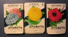 Wholesale Lot of 75 Old 1950's Vintage - FLOWER - SEED PACKETS - 310E - EMPTY