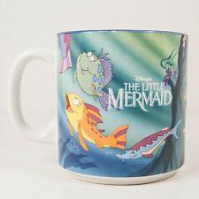 Vtg Disney Little Mermaid Coffee Mug Cup Japan Disney Store 1990's