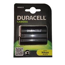 DURACELL Ersatz Akku für Nikon EN-EL15 D800E D7000 D810 D610 D750 D600 D7100