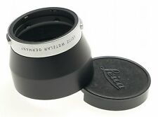 LEICA CHROME 4.5/135 LENS HOOD 4/90 SHADE 12575 MINT 2.8/90mm WITH REVERSE CAP