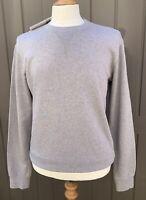 Maison Martin Margiela Sweater Calf Leather Elbow Patch Size 50 - Large