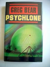 Greg Bear--PSYCHLONE 1st HC ed 1st ptg HCDJ Fine/Fine Signed