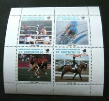 Union Islands/St Vincent/Grenadines-1988Summer Olympic's Minisheet-MNH