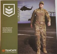 Tencate Protective Fabrics Military Catalog Booklet NEW 2015 39 Pages
