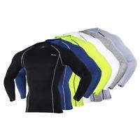 Men's Cycling Sports Underwear Long Sleeve Running T-shirt Gym Fitness Shirts