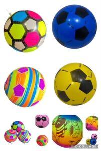 PVC Soft Balls Indoor Outdoor Football Soccer for Kids Beginner Play Exercise
