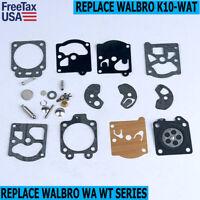 K10-WAT Carburetor Carb Rebuild Kit Gasket Diaphragm for Walbro WA WT Series