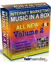 MUSIC IN A BOX V2 - Lizenzfrei 250 Musik Clips Ohne Lizenz Youtube Marketing PLR