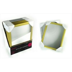 """Pack of two Glamour Stylish Mirror Square Mirror 7.5X9.5"""" New"""