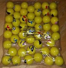 "50 Emoji 45mm 1.75"" Superballs High Bouncing Super Balls For Bulk Vending & More"