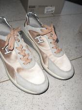 ausgefallene* HOGAN * Sneaker, Leder,grau- rosé,Gr.  37/38,wie neu !NP 295 €