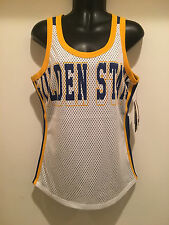 d82ee3557 Golden State Warriors Ladies Mesh Tank Top - Opening Day Tank by G-III -