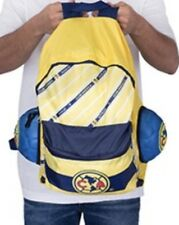Maccabi Club America Backpack Yellow/blue Soccer Ball Turns Into Backpack