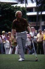 Lot (3) 1973 JACK NICKLAUS, J.C. SNEAD & JOHNNY MILLER Golf Pros Original Slides