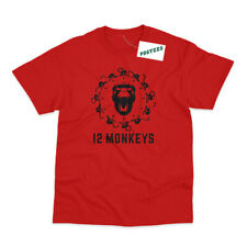 12 Monkeys Inspired by Twelve Monkeys Printed T-Shirt