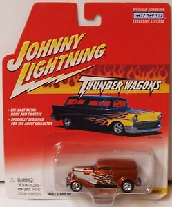 Johnny Lightning 2002-Trueno Vagones-1933 Ford Entrega